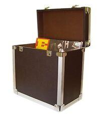 Steepletone SRB 12 inch LP Storage Case Black Retro Style Record Bag Music Gift