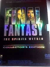 Final-Fantasy-the-Spirits-Within-Collectors-Edition-2-disc-set-dvd-Like-New