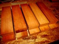 10 S4s Kiln Dried Pieces Of Cherry Lumber Wood Blanks 11 X 2 3/4 X 1 3/8