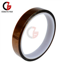15mm 1.5cm X 33m 100ft Tape High Temperature Heat Resistant Polyimide M