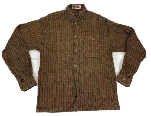 Vintage Williwear Cotton Button Up Shirt Men's Sz