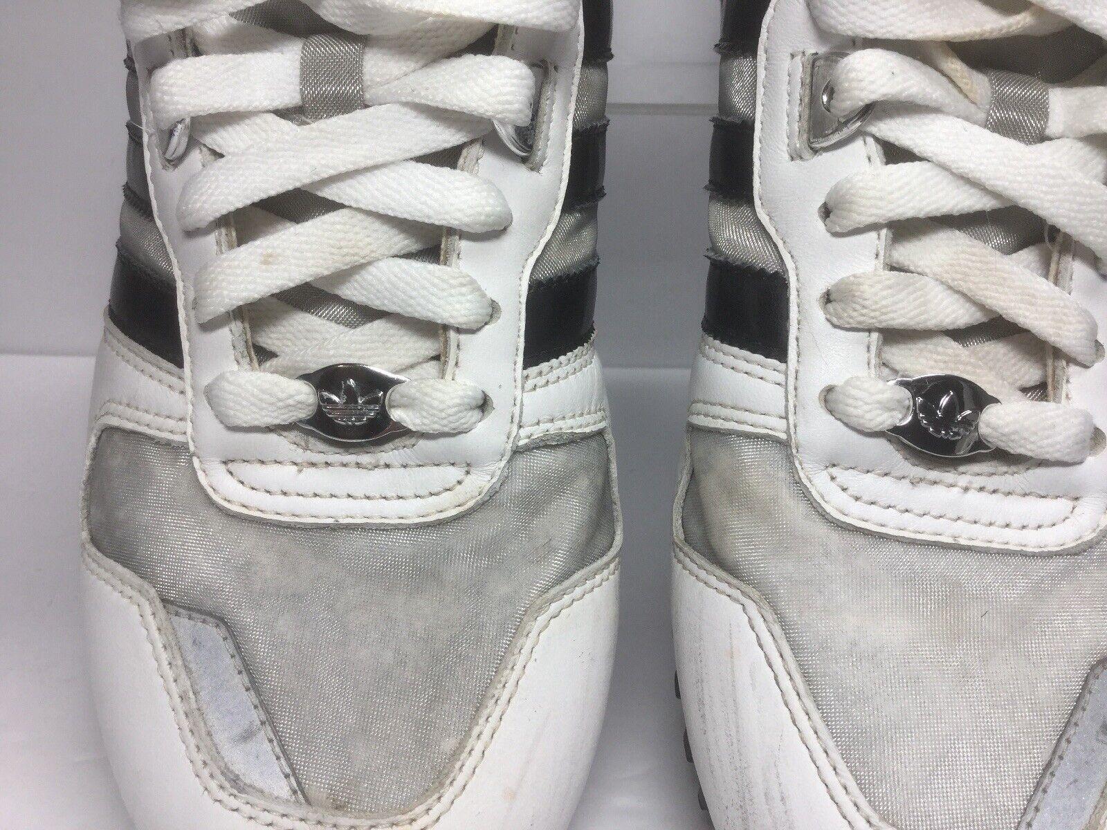 Adidas Mens ZX 700 3Streifen Leather running shoes White size 7.5 M