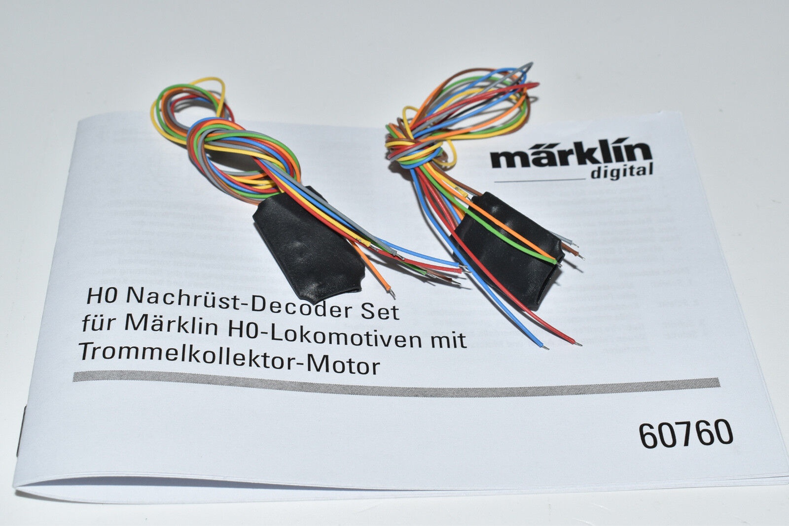 Märklin 2 x decoder da 60760 60760 60760 FX decodificatore digitale Set decoderset Merce Nuova b84b94