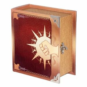 Grimoire Pro Tour Deck Box Arbiter Spellbook Wooden Store 350 Card Magic YuGiOh
