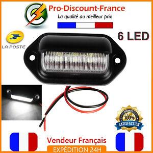 Eclairage-LED-Plaque-Immatriculation-Camion-Remorque-Camping-Car-12V-Caravane