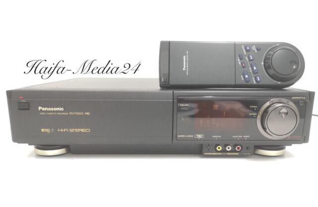 Panasonic NV-FS200 HighEnd SVHS Recorder / S-VHS Videorecorder +FB 1 Jahr Gewähr