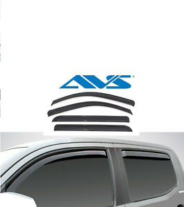 Avs Vent Shades >> Details About Avs Rain Guards In Channel Window Vent Visor 2018 2020 For Toyota Camry