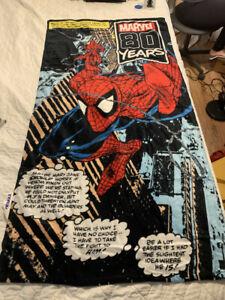 Todd-McFarlane-Spider-Man-Beach-Towel-Pool-Bath-Cotton-26-034-X53-034