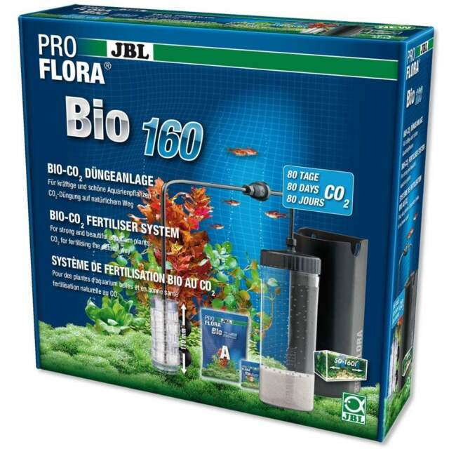 JBL ProFlora Bio 160 CO2 Planted Aquarium Fish Tank System