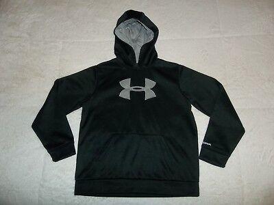 boys under armour hooded sweatshirt