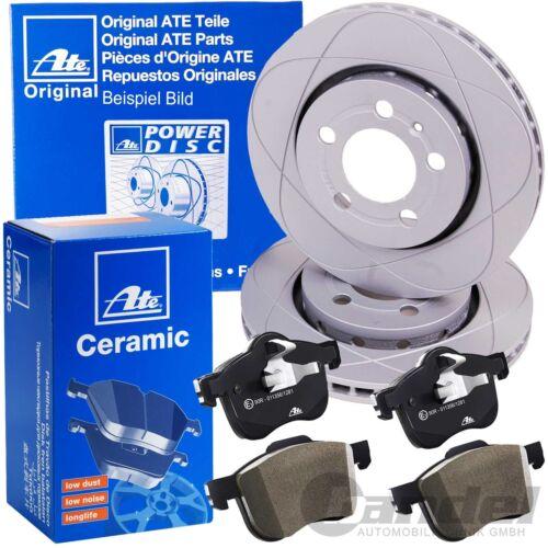 UAT POWERDISC Disques de frein 292 mm Ceramic Garnitures Arrière SAAB 9-3 ys3f 9-3x