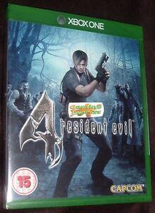 Resident-Evil-4-HD-remake-XBOX-ONE-XB1-Nuevo-Sellado-Gratis-Reino-Unido-P-amp-p-vendedor-del-Reino