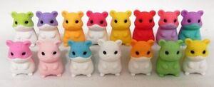 Very Rare Hamster Iwako Puzzle Eraser Randomly Picked - Pack of 100