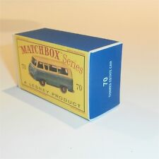 Repro Box Matchbox 1:75 Nr.59 Ford Thames Van