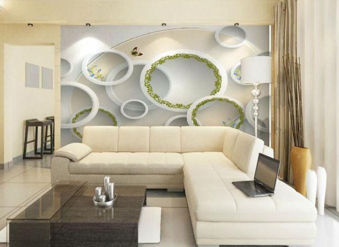 3D Kreisförmigen Raum Fototapeten Wandbild Fototapete Bild Tapete Familie Kinder