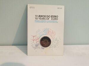 Coincard BU 2 Euros Commémorative Portugal 2012 10 Ans de l'Euros