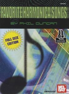 Favorite-Harmonica-Songs-Sheet-Music-Book-with-Audio-Full-Size-Edition-Qwikguide