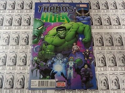Thanos Vs Hulk #2 Marvel NM Comics Book