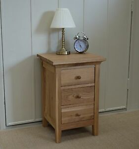 LEWIS-ESPRIT-SOLID-OAK-BEDSIDE-CHEST-3-DRAWERS-DANISH-OILED-NEXT-DAY-DELIVERY