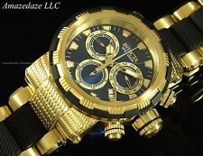 Invicta Mens Swiss 18K Gold Plated Stainless Steel Swiss Chronograph Capsule Wat