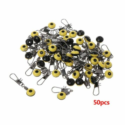 Connector Quick Release Hot 50 Pcs//Set Space Bean Fishing Tackle Float Beads