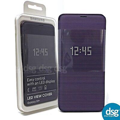 size 40 ce99c 70ac8 Official Samsung Galaxy S9+ SM-G965 Purple LED Flip Wallet / Case -  EF-NG965PVEG 8801643098483 | eBay