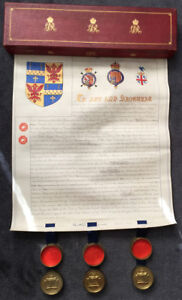 Grant-of-Arms-1914-Colonel-Francis-W-Pixley-requesting-for-the-Blore-Family