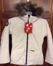 Helly Hansen Longyear Flow Jacket Ash Grey Belt Hood Women XL $280 NWT New 51414