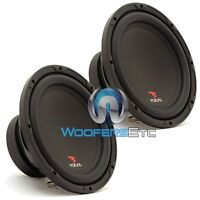 (2) Focal Sub P25 10 Subs 800w Max 4-ohm Car Audio Subwoofers Bass Speakers