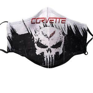 Corvette C1 C2 C3 C4 C5 C6 C7 Cotton Face Mask Ebay