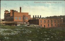 Oswego NY Kingsford's Starch Factory c1910 Postcard