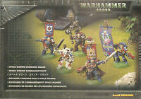 Wh40k Warhammer 40k Space Marine Command Squad Games Workshop