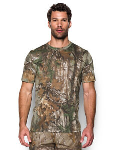 20cd084f8f Details about Under Armour Men's UA Tech Camo Short Sleeve T-Shirt Large  REALTREE AP-XTRA