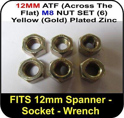 Porsche 911 Zenith Weber Solex Carb to Manifold Nut Set 6 x 12mm ATF D0