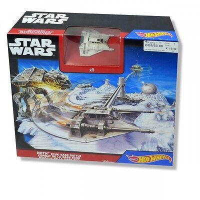 Hot Wheels Star Wars Starship Hoth Echo Base Battle Play Set Brand New