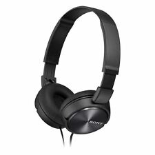 Sony Headphones MDR-ZX310AP Foldable Stereo Headset Earphones For Music - Black