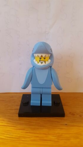 genuine lego minifigures the shark suit guy from series 15 mint