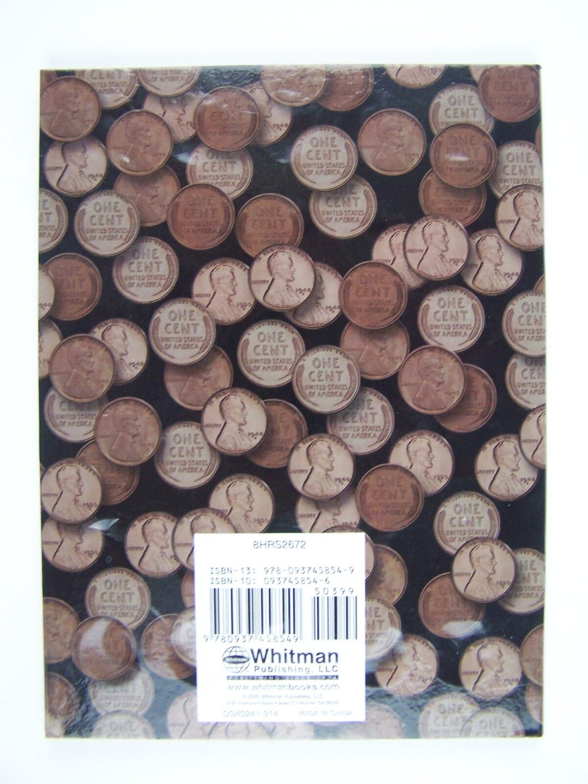 New Harris Lincoln Cent 1909 - 1940 Coin Folder #2672 9