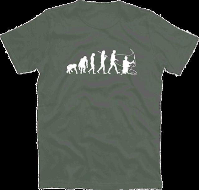 Standard Edition Fly fishing II bow tie fishing fisher Evolution T-Shirt S-XXXL