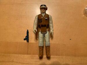 VTG 1980 KENNER STAR WARS ESB Hoth Rebel Trooper Loose Complete w/ gun Blaster