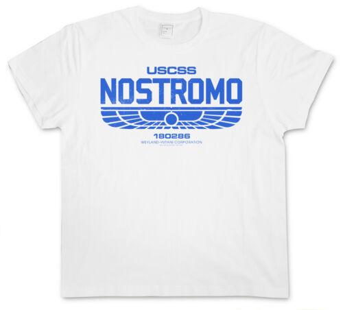Prometheus USCSS Nostromo Alien Yutani Logo WEYLAND CORPORATION II T-SHIRT