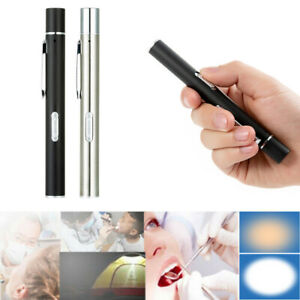 USB Rechargeable Ml Handy Pen Light Mini Nursing Flashlight LED Torch Lamp