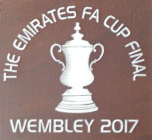 Arsenal EMIRATES FA CUP FINAL WEMBLEY 2017 Official Match Transfer Details Logo