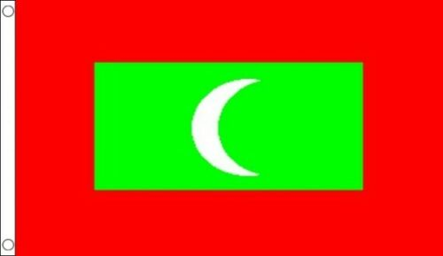 100/% Polyester With Eyelets Commonwealth Games Maldives Flag 3 x 2 FT