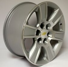 New 20 inch Chevy Machine and Silver Wheels Rims Silverado Z71 Suburban LTZ