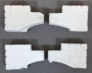 4X-Menta-Bloque-para-Diorama-LGB-Moldes-Guarderia-Ruinas-Burg-Bau-Cuna-Nuevo