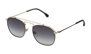 Occhiali-da-Sole-LOZZA-SL2315M-oro-sfumato-lucido-doppio-ponte-sunglasses-0302