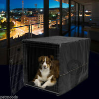 Dog Crate Cage Kennel Pet Cover Only Black Midwest Quiet Time 42 Long X-large