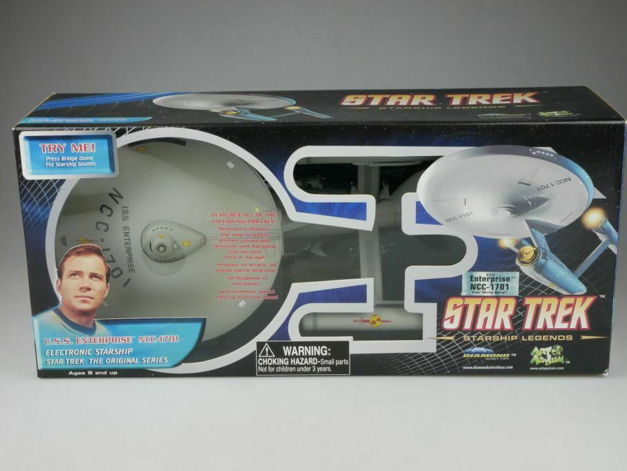 Star Trek USS Enterprise NCC-1701 from Mirror Mirror Diamond Select + Box 111099
