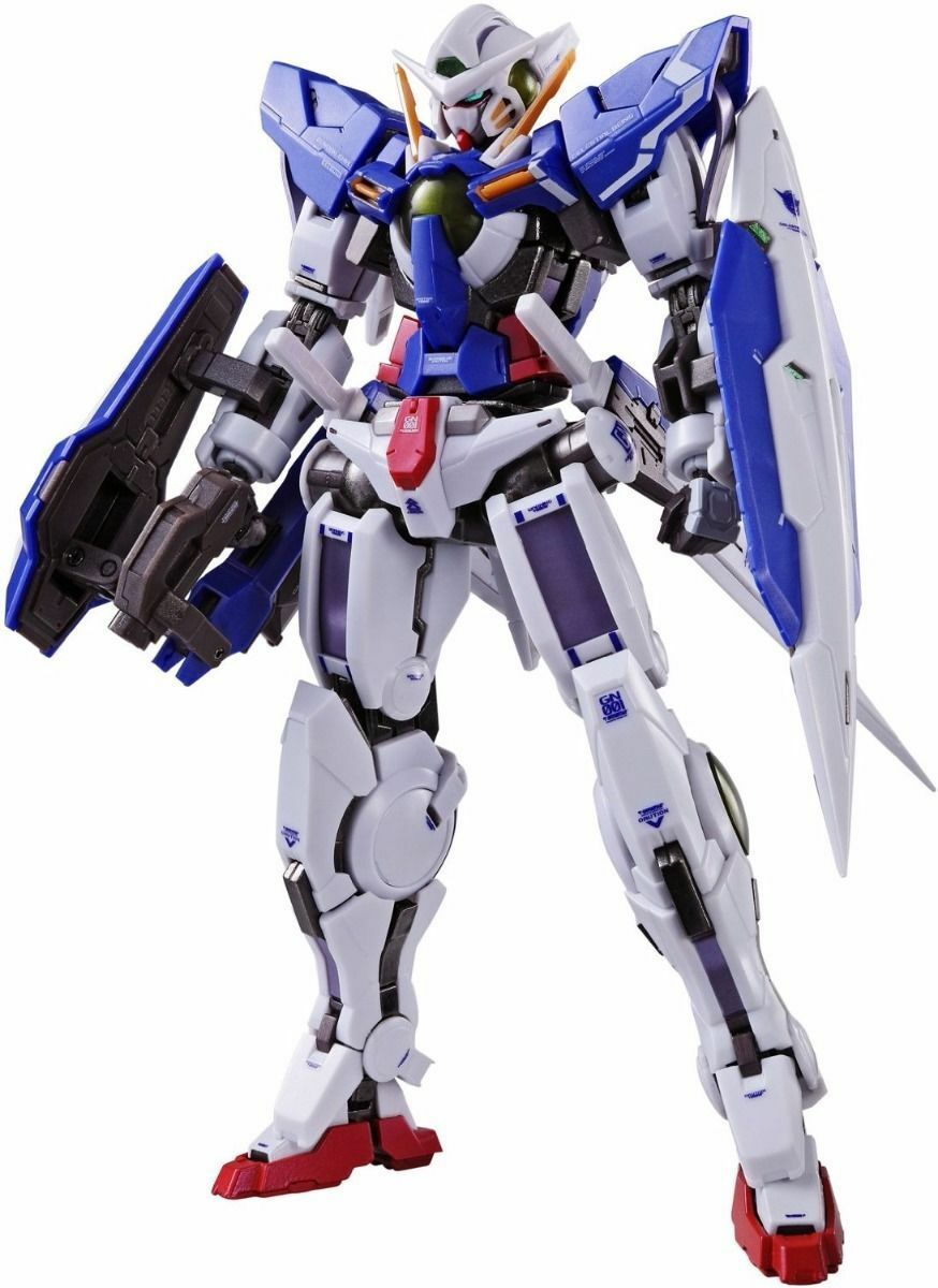 Metallo Costruzione Gundam 00 Exia & Riparazione III Action Figure Bandai Da